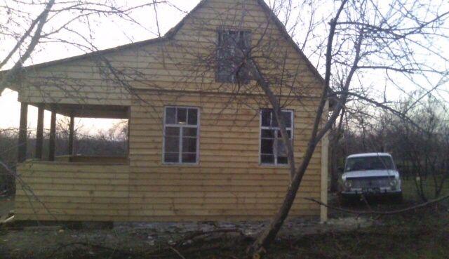 Дача, дом с дерева