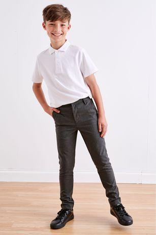 Белая рубашка поло George next футболка комплект школьные поло на 7-8