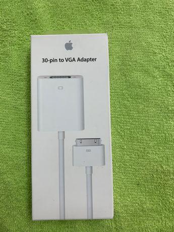 Adaptador ficha iphone/ipad 30 pinos para vga