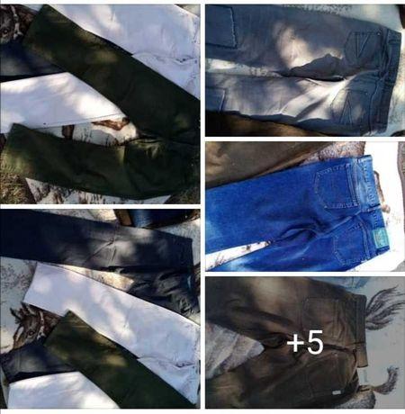 Lote de 5 pares de calças homem 48/50