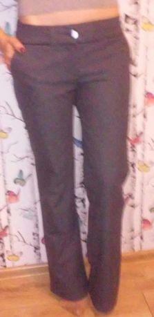 Szare,eleganckie spodnie -nowe