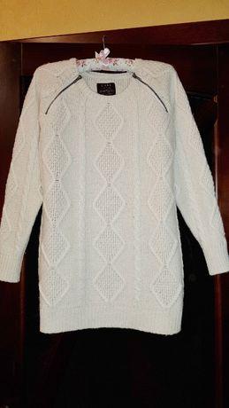 Распродажа! Зимний удлиненный свитер, джемпер l`art di River Island