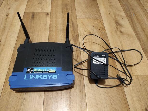 Router LINKSYS WRT54GL - stan bardzo dobry, z zasilaczem.