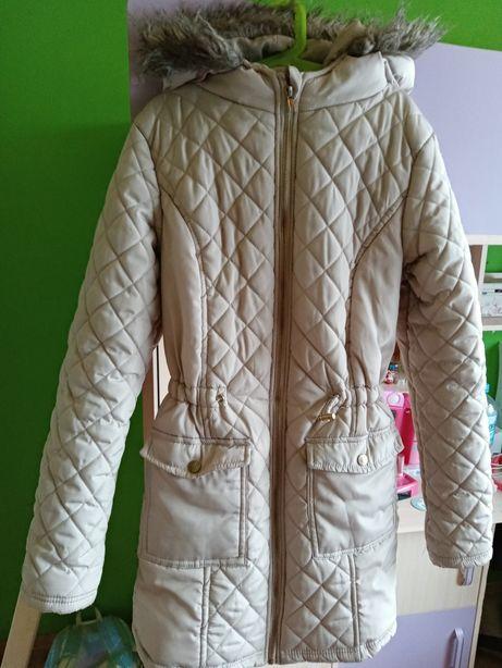 Płaszcz zimowy rozmiar 158