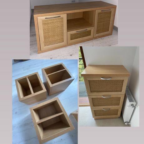 Komplet mebli (szafki, półki)