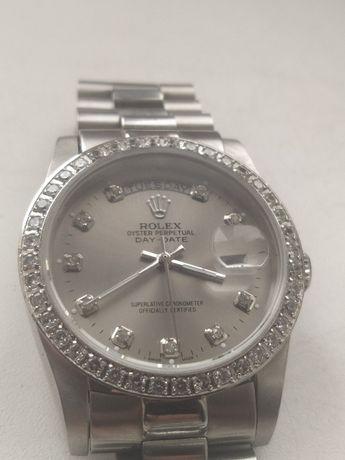 Rolex Day-Date стильные женские часы . механика