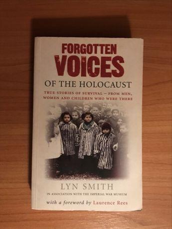 Książka po angielsku ,,Forgotten voices of The Holocaust''