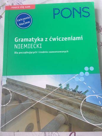 Gramatyka z ćwiczeniami niemiecki PONS