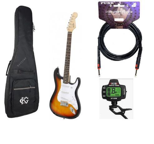 Zestaw Gitara Squier Bullet BSB + pokrowiec + kabel + tuner!!