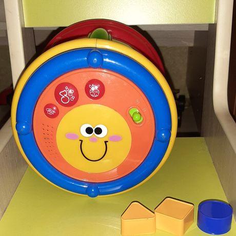 Продам музыкальный барабан Chicco