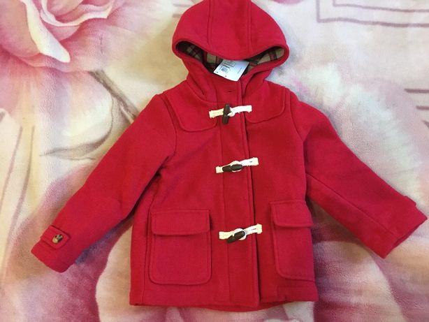 Шерстяное пальто M&S