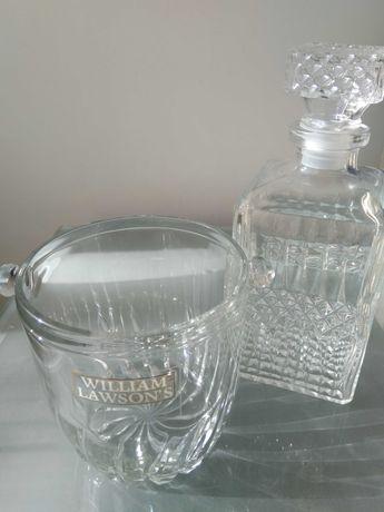 Garrafa de whisky + balde de gelo