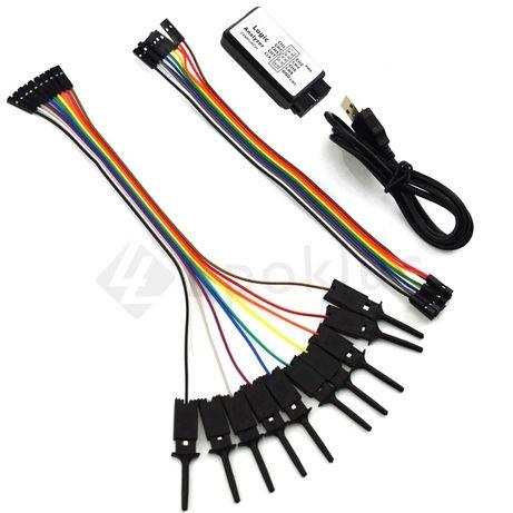 Analisador Lógico 8 canais Compatível Saleae - Arduino Osciloscopio