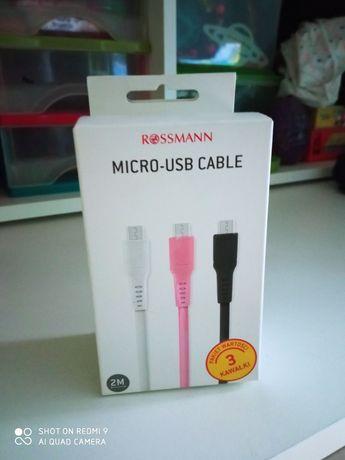 Nowe kable USB zestaw
