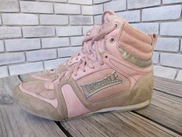 Замшевые кроссовки Lonsdale, размер 37