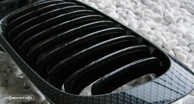 Grelhas Frontais Bmw Serie 3 - E46 Coupe Cabrio - Pintura Carbono
