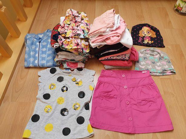122-128 paka ubrań dla dziewczynki