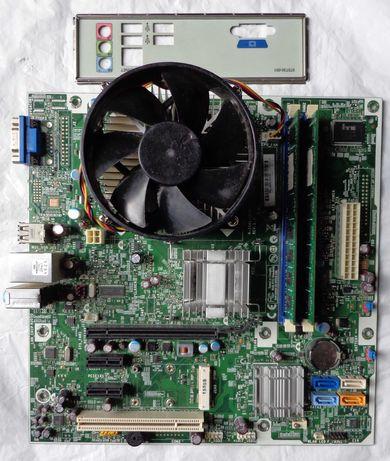 Комплект 2 ядра Intel E8500/Foxconn 2A8C/4 Gb DDR3