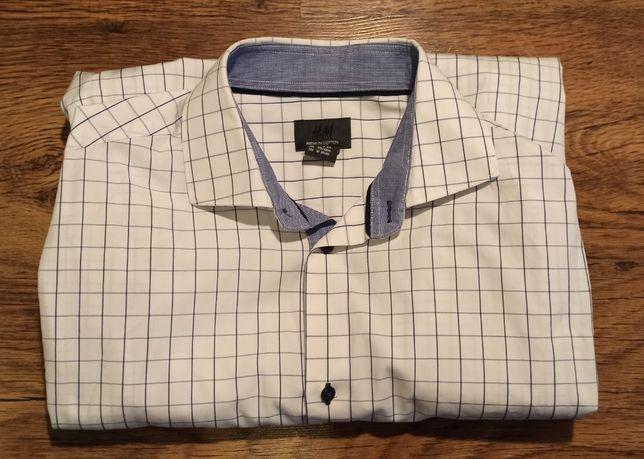 koszula męska H&M, rozmiar: M, 170 cm