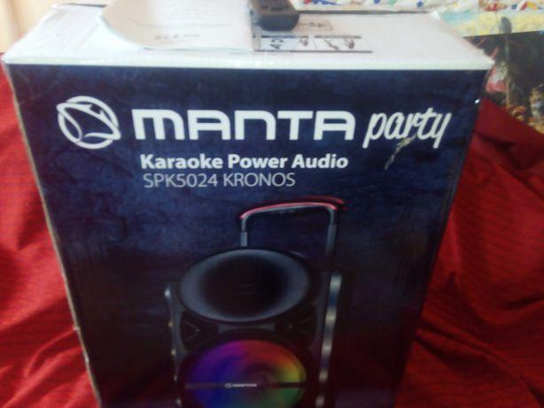 Głośnik Power Audio Manta SPK 5024 KRONOS Karaoke
