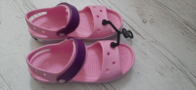 Нові босоніжки Crocs, на дівчинку, ОРИГІНАЛ!