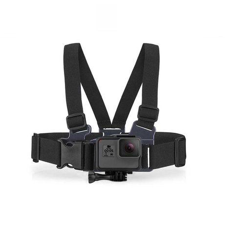 Крепление на грудь для GoPro HERO7 Black Black практичеси новое