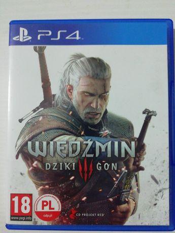 Wiedzmin Dziki Goń III PlayStation 4