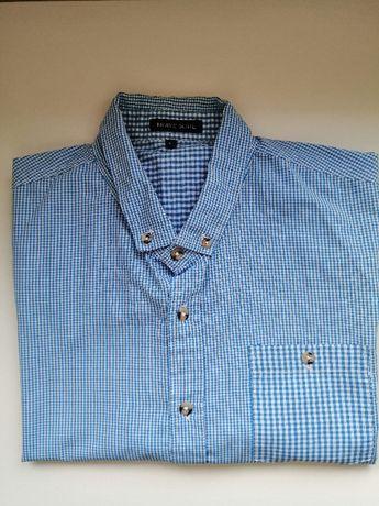 Koszula męska w kratkę L