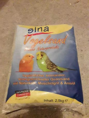 Piasek dla ptaków 2,5kg - 12szt.
