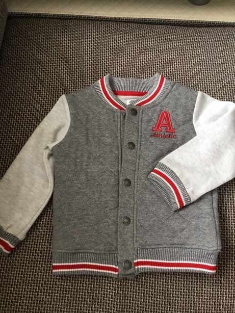 Sweterek pikowany,chłopiec 92