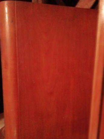 Kpl.starych mebli prl szafa 3 drzwiowa, łóżko i 2 szafki nocne