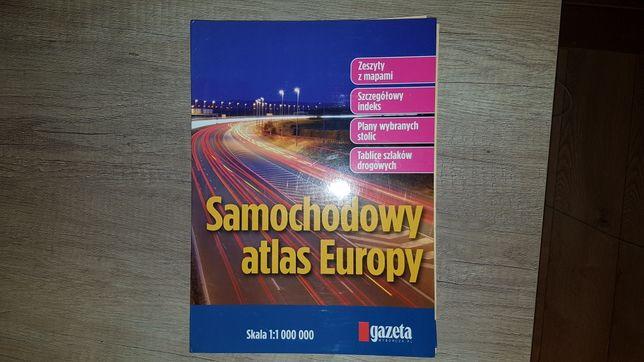 Samochodowy atlas europy Gazeta Wyborcza