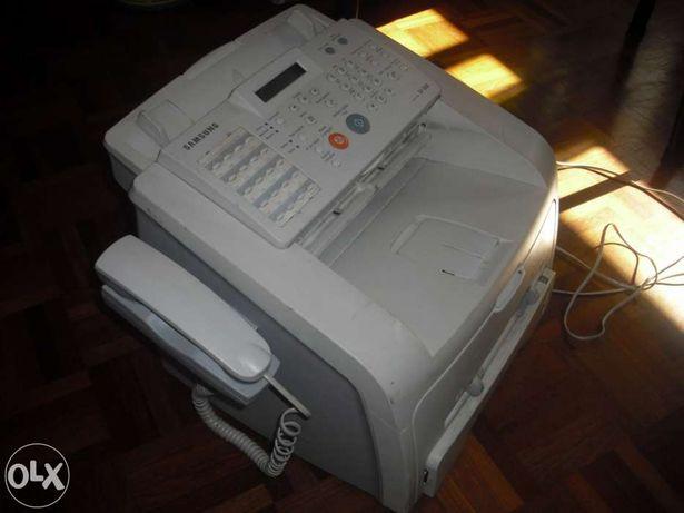 Fax Laser Samsung SF 560 (com telefone incorporado).