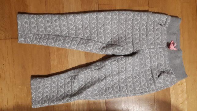Spodnie jesienne dla dziewczynki rozm. 104