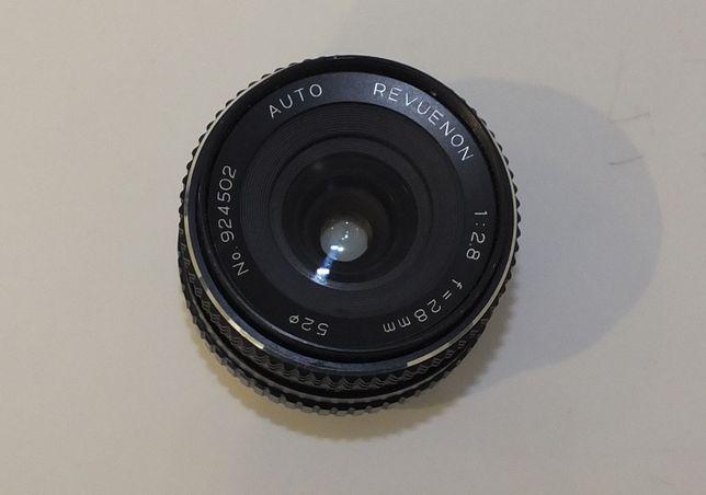 Obiektyw REVUENON 1:2.8 F=28MM Auto .::DELTA::.