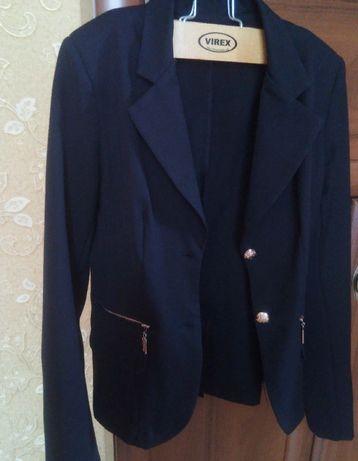 Пиджак школьный на девочку подростка, размер 32 XXS