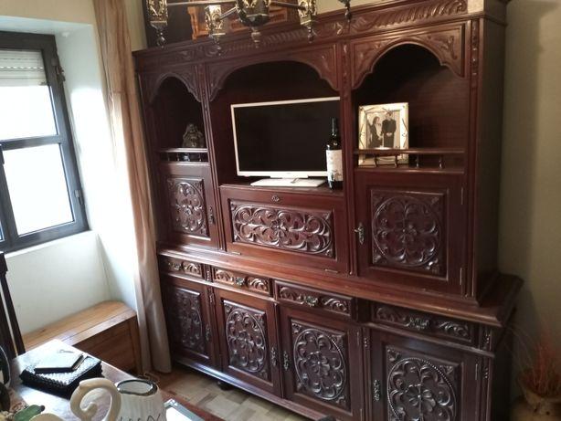 VINTAGE - Mobília de sala antiga