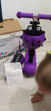 Детский самокат- беговел ITrike JR 3-054-K MAXI
