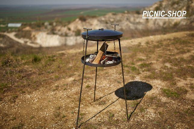 сковорода из диска бороны, садж, мангал, чехол