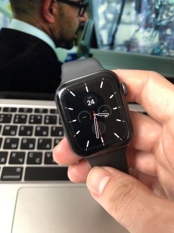 Apple Watch 4 44 mm GPS+ LTE  ( состояние  9.5/10}