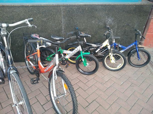 Велосипед детский 4-8 лет.