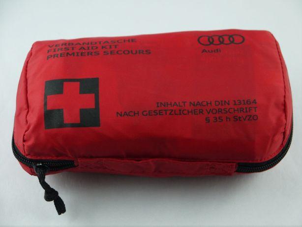 Apteczka pierwszej pomocy samochodowa Audi NOWA 07-2024 i-lombard.pl
