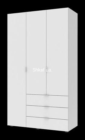 Шкаф : Гелар 3Д белый