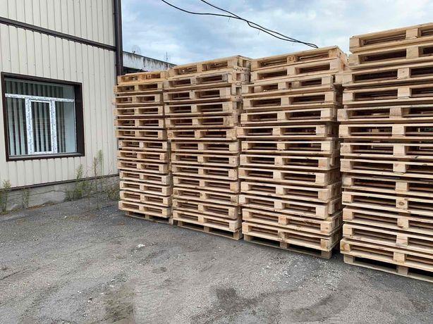 Поддоны деревянные, новые 1,2*0,8 от 100штук