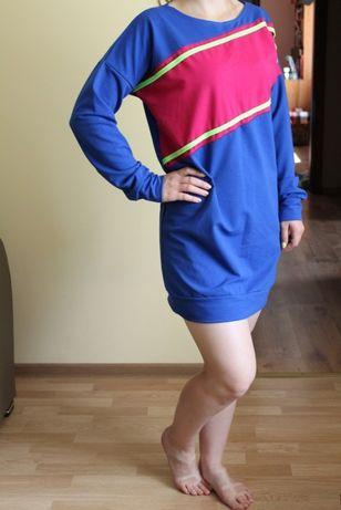 Neonowa sportowa sukienka pakuten nowa s m must have hit!