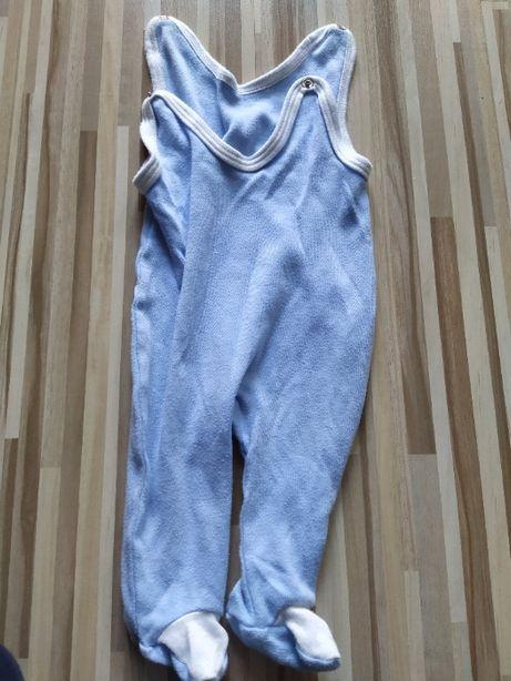 Niebieskie śpiochy niemowlęce rozmiar 62
