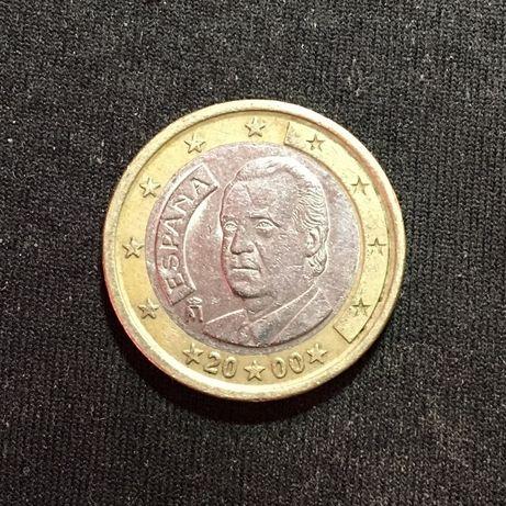 1 Евро Испании «Хуан Карлос I» (2000)