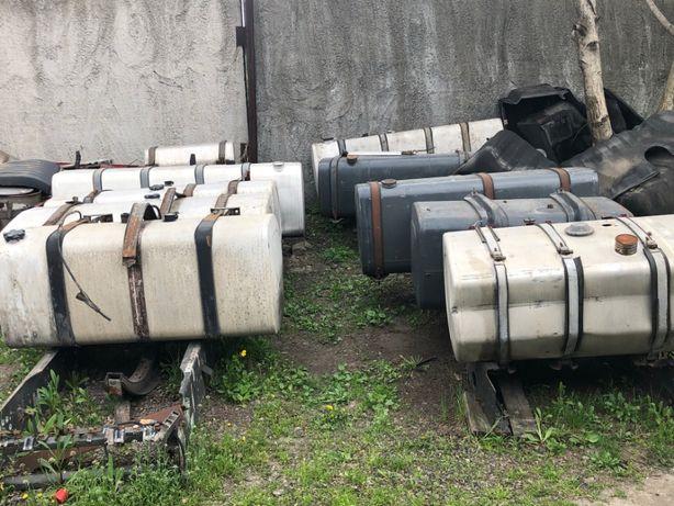 Бак топливный алюминиевый стальной железн б/у Renault, MAN, Volvo, DAF