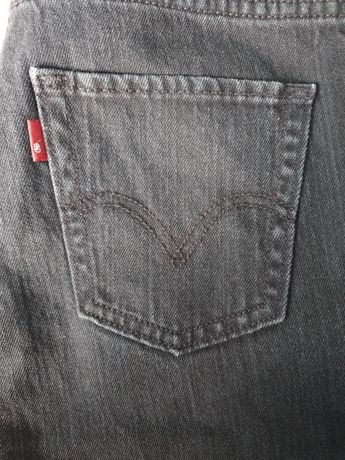 Czarne jeansy skinny Levi's 511 tm