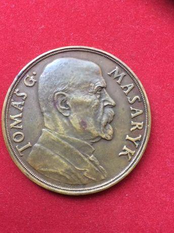 Комплект медалей и монет в честь Томаша Масарика
